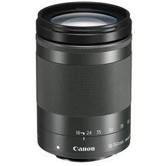 Canon EF-M 18-150mm f/3.5-6.3 IS STM Lens, Black