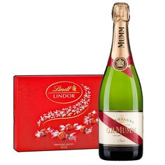 In this very harmonious dry Champagne, full of flavor–dried apricot, candied orange peel, nut, and smoke–toast and dried fruit notes are combined, but still elegant and sweet.  On the vibrant finish, the warm, toasty note lingers. The gift consists of G.H. champagne. 750ml Mumm Brut & 187 g Lindor Candy Box.  #ValentinesDay #ValentinesDayGifts #ValentinesDayGiftIdeas #love Dried Apricots, Dried Fruit, Lindt Lindor, Candied Orange Peel, Corporate Gifts, Valentine Day Gifts, Champagne, Toast, Vibrant