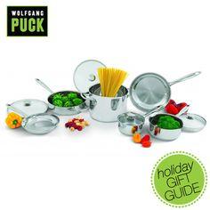 10 piece gourmet cookware set $169.99 on WolfgangPuckDirect.com