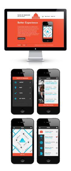 UI Exploration by Justin Blumer, via Design News Web Design, Web Design Studio, Mobile Ui Design, Web Ui Design, Branding Design, Wireframe, Make Up Guide, Ui Design Inspiration, Design Ideas