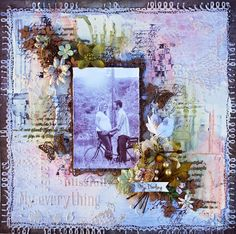 My Darling – Mixed Media Layout with Shona Keehn- http://creativeembellishments.com/blog/?p=3400