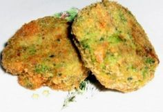 Brokkoli fasírt Baked Potato, Quiche, Tapas, Food To Make, Paleo, Potatoes, Chips, Vegetarian, Herbs