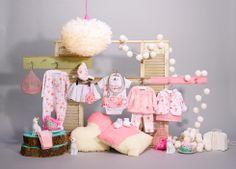 Journée de rêves / Dream day Collection Printemps 2014 Nouveau-né Fille / Newborn Girl #vetement #bebe #baby #clothing www.sourismini.com