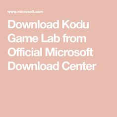 microsoft kodu game lab free download