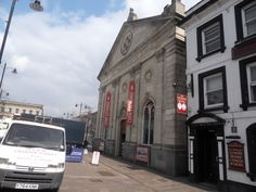 Newbury Corn Exchange. Theatre, Cinema and Arts Centre. Berkshire. England.