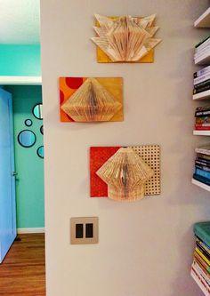 Kelli Nina Perkins: Folded Book Art