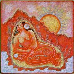 mystical sacred feminine | To purchase her art or to read about Mara Friedman, visit her site at ...