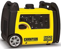 The Champion 3100W inverter/generator - currently our pick as best small inverter/generator for Level 1 type situations.