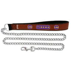 LSU Tigers Chain Leash - Brown - $25.99