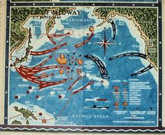 1942 - In June, the Battle of Midway is a turning point in the Pacific War, against the Japanese. Evil Empire, Story Of The World, Total War, Armada, Navy Ships, War Machine, History Facts, Military History, World History