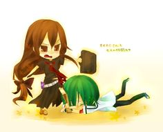 Okamisan And Her Seven Companions Ringo Chibi 1000+ images about Ook...