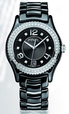 Ebel X-1 in Steel and Ceramic