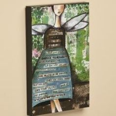 "8""x12"" Wall Art-Let it Go 