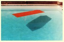 Swimming Pool Fire Island by David Hockney 1978 Postcard