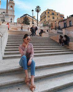 "5,655 curtidas, 16 comentários - IOANA GRAMA (@ioanagrama) no Instagram: ""last morning in #Rome I'm not ready to go homeeeee"""