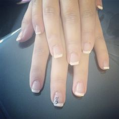 French gel ongles nails