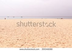 Naitorn beach on twilight sky day,  Phuket Thailand - stock photo