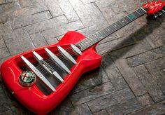 Alfa Romeo Custom Guitar