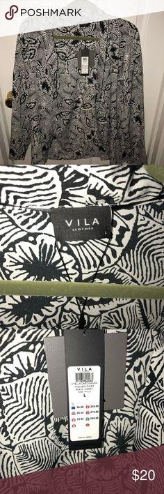 Vila Kimono Cute Kimono from Vila Clothes  With tag, obviously never worn!  perfect condition VILA Tops
