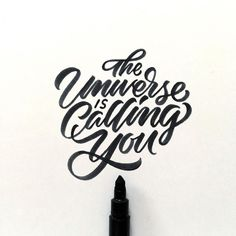 The Universe is calling you...