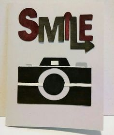 Smile, camera card