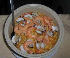 Feijoada aux fruits de mer à la Portugaise