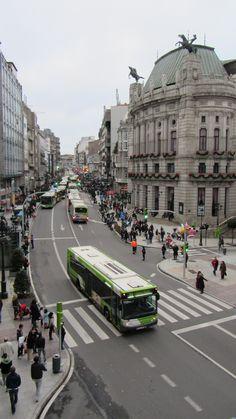 """Policarpo Sanz, Vigo. 30 minutes to """"Three Kings Parade"""""""