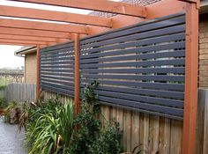Privacy Fence Ideas 29
