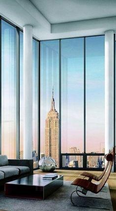 Luxury penthouse apartments in Manhattan