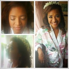 One of our #angelic #brides #bridetobe from this weekend! #bridalhair #bridalmakeup by our Kim! #flowercrown #flowers #curls #waves #weddingdayhair #weddingdaymakeup #hairaccessories #2016bride #flowersinherhair #Regram via @mghairandmakeup
