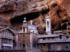 Church and Monastery of St. Takla (Ma'loula, Syria)