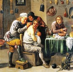David Teniers the Younger(1610-1690) Фламандия