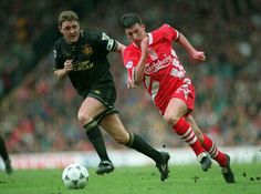 The Toxteth terror, Robbie fowler being chased by Peter kaye