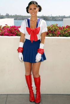 OLIVA MUNN\ | Olivia Munn in a Sailor Moon outfit at Comic-Con - Hot Celebs Home