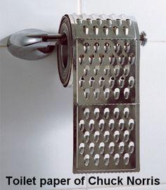 Toilet paper of chuck norris http://vaingloriouspixel.com/vainglorious-pictures/toilet-paper-of-chuck-norris/