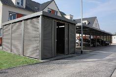 Gardenplaza - Gerätehäuser und Mehrzweckbauten der jüngsten Generation - Ästhetisch und multifunktional