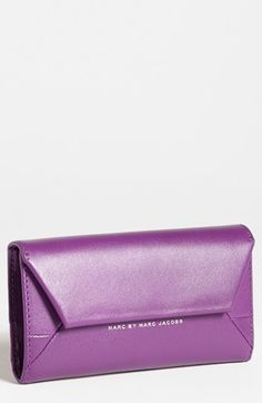 MARC BY MARC JACOBS 'Updated Tangram' iPhone 5 Wristlet available at #Nordstrom in BLACK, not purple