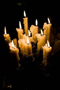 The collection of dripping candle wax signifies the passage of time. Chandelier Bougie, Backyard Tent Wedding, Candle In The Wind, Fire Candle, Burning Candle, Candle Magic, Candle Lanterns, Drip Candles, Candle Lighting