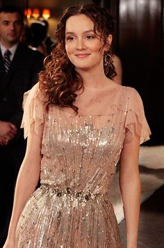 Blair Waldorf in Jenny Packham. One of Gossip Girl's best looks.