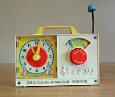 Fisher-Price Hickory Dickory Clock & Music Box