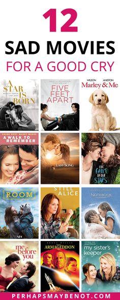 Must Watch Netflix Movies, Best Films To Watch, Movies To Watch Teenagers, Romantic Movies On Netflix, Netflix Movie List, Girly Movies, Good Comedy Movies, Movie To Watch List, Sad Movies