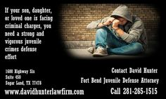 David Hunter Law Firm - Criminal Defense #Attorneys Are you searching for a criminal defense attorney with topnotch experience and proven results? Contact David Hunter,DWI lawyer. For a free consultation,call 281-265-1515 http://davidhunterlawfirm.com/practice-areas/underage-dwi-dui.html
