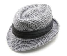 fedora hat crochet pattern free - Buscar con Google  39d5e0be0c5