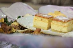 Magischer Kuchen - ein teig mit 3 verschiedenen Schichten an Konsistenzen