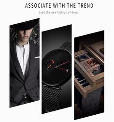 Ultra Thin Casual Style Watch Quartz Watch, Fashion Watches, Suit Jacket, Mens Fashion, Luxury, Casual, Jackets, Stuff To Buy, Moda Masculina