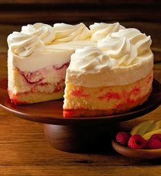 The Cheesecake Factory Lemon Raspberry Cream