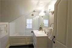 Attic Master Bath Design, Pictures, Remodel, Decor and Ideas - page 5