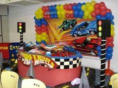 Hot wheels birthday party ideas – hotwheels theme cake pictures