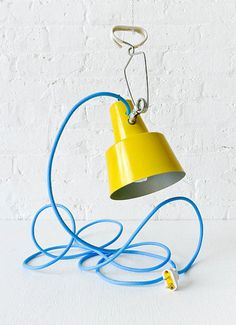 blue #yellow #lamp #colour