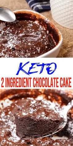 BEST keto desserts, keto snacks or keto breakfast idea. Try these simple & quick homemade keto 2 ingredient cake. Desserts Keto, Keto Dessert Easy, Sugar Free Desserts, Quick Simple Desserts, Easy Healthy Desserts, Diabetic Sweets, Easy Snacks, Keto Snacks, Low Calorie Snacks Sweet